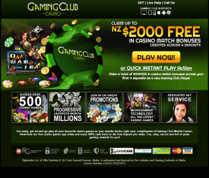 casino club online the gaming